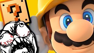 GAME IS HARD! | Super Mario Maker