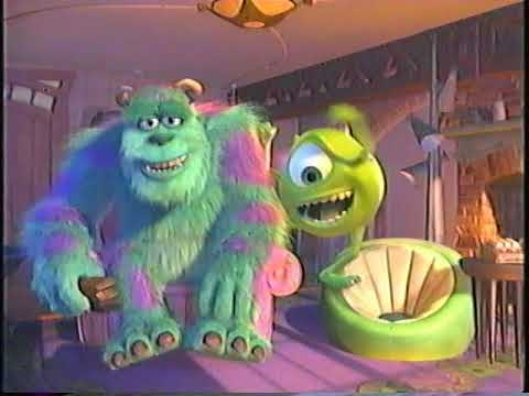 2003 Starz Monsters Inc Promo And Feature Presentation