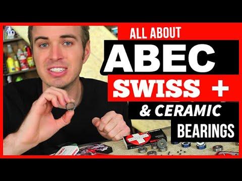 ABEC, Swiss, Ceramic, Skateboard & Longboard Bearings