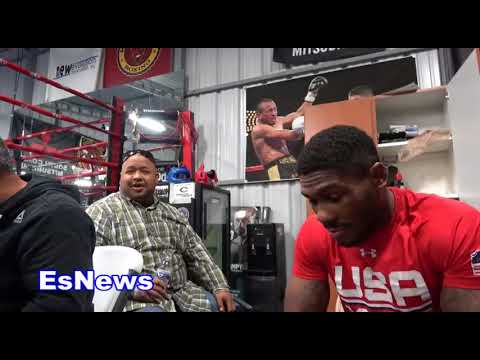 the champ mikey garcia and the samoan cook frank - EsNews Boxing