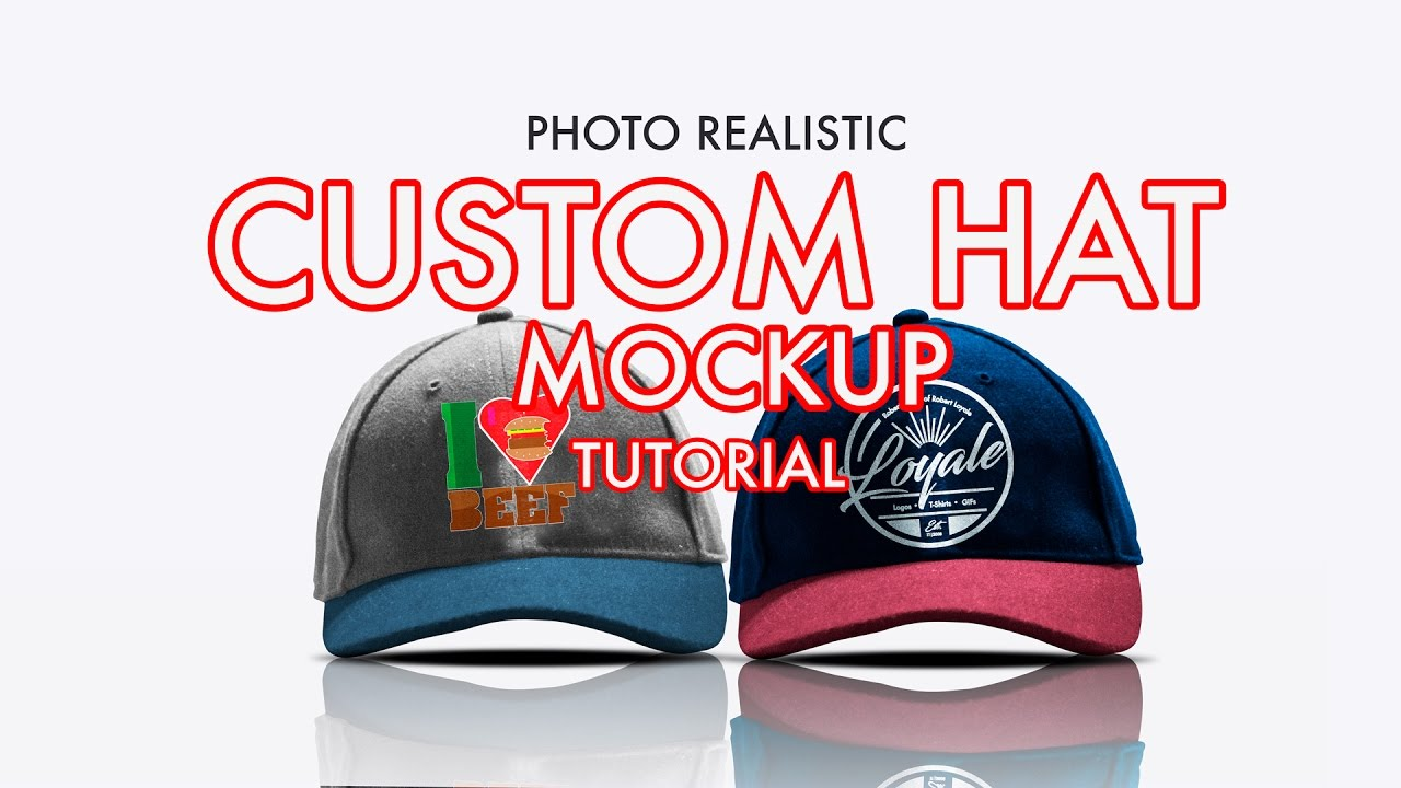 14fb45046d4 How to Design A Photorealistic Custom Hat Cap Mockup in Photoshop ...