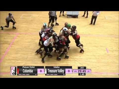 Game 13: Treasure Valley Roller Derby v Columbia QuadSquad