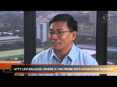Atty Levi Baligod: Where is the probe into #PDAFscam headed?