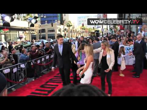 Step Up Revolution Premiere in Hollywood with Ashley Tisdale and Scott Speer
