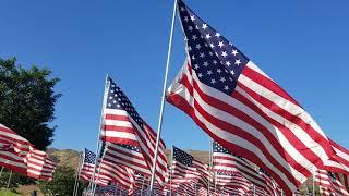 ธงชาติสหรัฐอเมริกา เยอะที่สุดในโลก