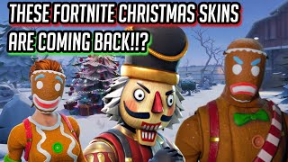 These Fortnite Christmas skins ARE coming back to Fortnite: Battle Royale!!?