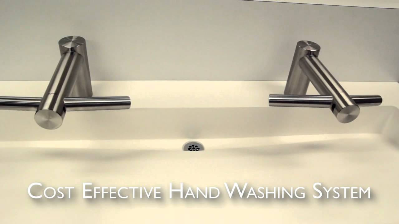 SLAB Edge™ featuring Dyson Airblade™ Tap Faucet & Hand Dryer - YouTube