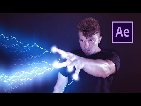 STAR WARS Force Lightning Effect | After Effects Tutorial