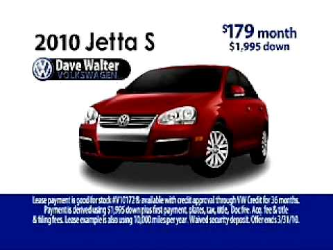 Dave Walter VW >> Dave Walter Vw Jetta Giant Commercial
