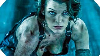 RESIDENT EVIL 6: THE FINAL CHAPTER All Trailer + Clips (2017)
