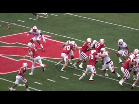 Nebraska Football Spring Game - Memorial Stadium - Lincoln Nebraska - April 16th 2017