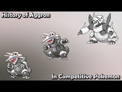 How GOOD was Aggron ACTUALLY - History of Aggron in Competitive Pokemon (Gens 3-7)