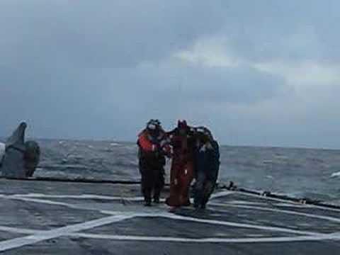 Coast Guard rescues Alaska Ranger survivors