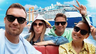 Russians in London. Cruise on the newest liner Celebrity EDGE