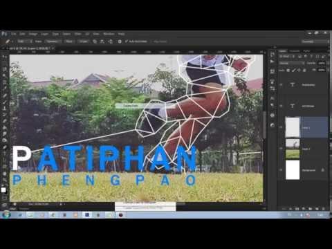 Photoshop สอนแต่งรูปทำพอร์ตสวยๆเท่ๆ