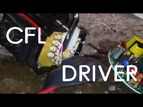Quick CFL Flyback Driver Tutorial