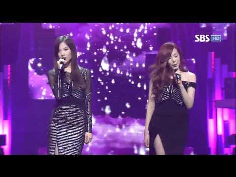 태티서 [Baby Steps] @SBS Inkigayo 인기가요 20120506