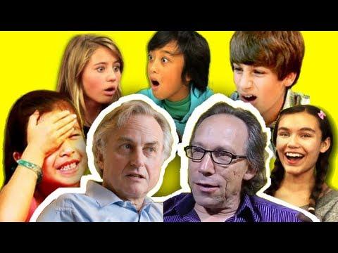 KIDS REACT TO THE UNBELIEVERS TRAILER (Richard Dawkins and Lawrance Krauss)