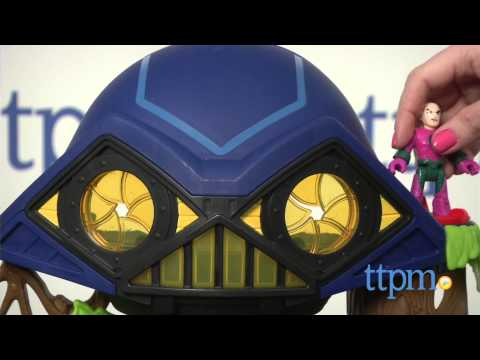 Imaginext DC Super Friends Hall Of Doom From Fisher-Price