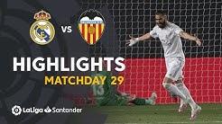 Highlights Real Madrid vs Valencia CF (3-0)