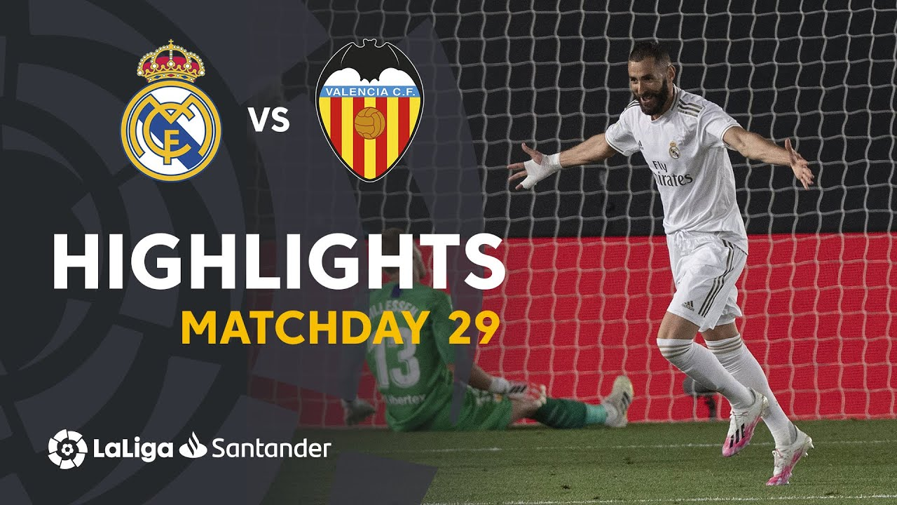 Highlights Real Madrid Vs Valencia Cf 3 0 Youtube