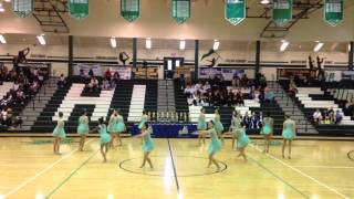McIntosh High Chiefettes- UDA State Competition Jazz Routine