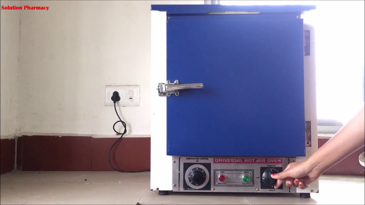 Hot Air Oven- Construction and Working  Dry Heat Sterilization  Hindi