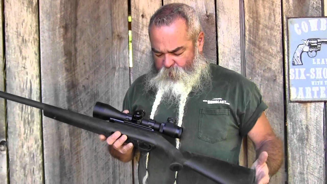 magnum research magnum lite 22 magnum semi auto rifle gunblast