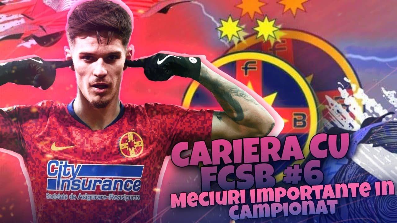 FIFA 21 Cariera cu FCSB #6 Meciuri importante in campionat