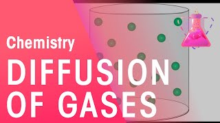 Diffusion of Gases | The Chemistry Journey | The Fuse School