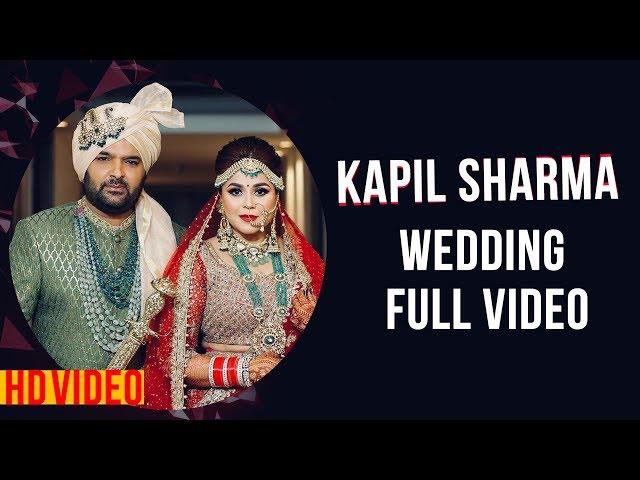 Kapil Sharma & Ginni Chatrath Wedding FULL HD VIDEO। बारात, मेहमान, शादी, विदाई