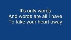 Boyzone - Words With Lyrics