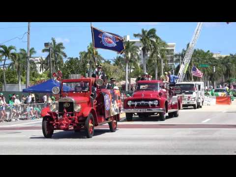 St. Patrick's Day Parade 2017 Delray Beach Florida 4k Sony AX-53 Video