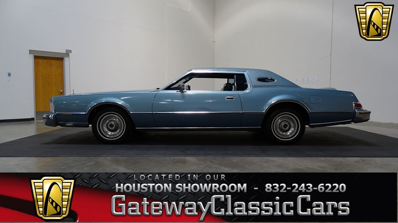 1975 Lincoln Mark Iv Gateway Classic Cars 735 Houston