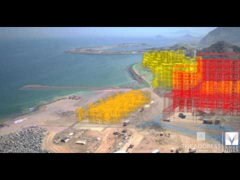 The Address Fujairah Resort and Spa - Drone Footage and Infographics - June 2017
