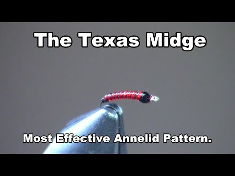 Texas Midge - Top Annelid Pattern for the San Juan River! - McFly Angler Fly Tying Tutorial
