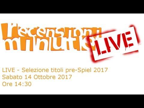 Recensioni Minute [LIVE] - Selezione Titoli Essen Spiel 2017