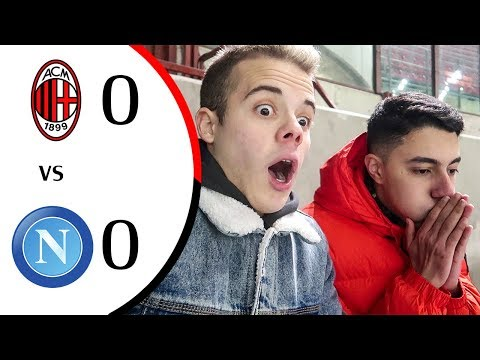 🤔 MILAN SUPERIORE? - MILAN 0-0 NAPOLI | LIVE REACTION SAN SIRO HD