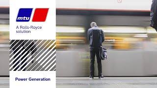 MTU Onsite Energy-Notstrom für das Wiener U-Bahn-Netz
