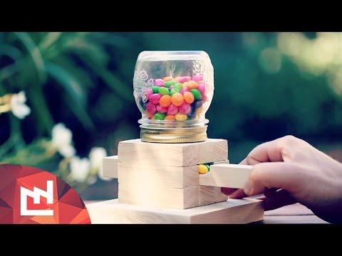 DIY Project : Make a candy dispenser