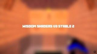 Minecraft Shaders #18 - Wisdom shaders v3
