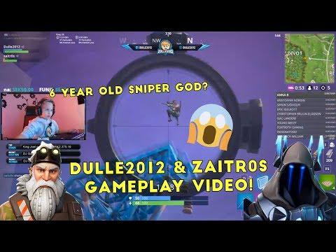 En rolig duo match med zaitr0s!🔥 | Dulle2012 Gameplay Video | Fortnite Battle Royale