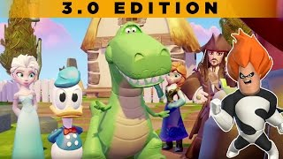 Disney Infinity 3.0 - Toy Box Takeover [Pirates World] - PS4 Gameplay, Commentary