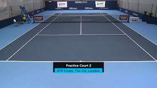 2019 Nitto ATP Finals: Live Stream Practice Court 2 (Friday)