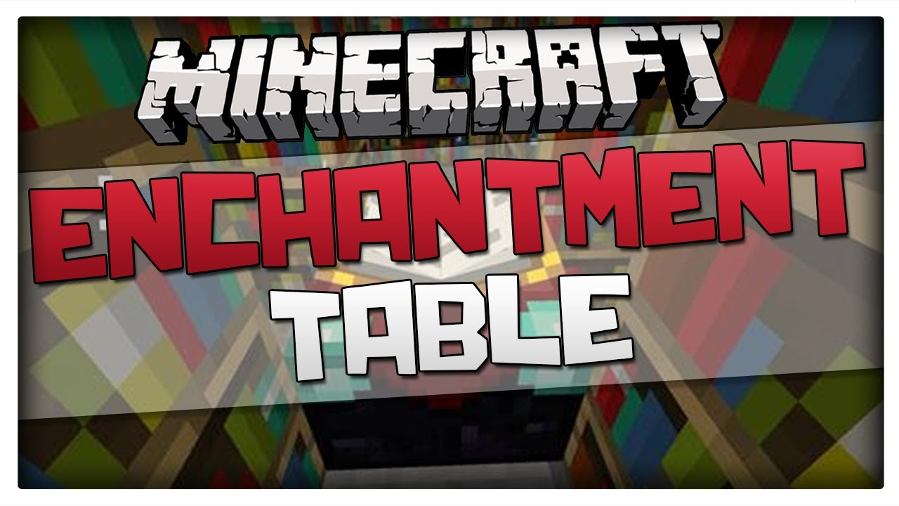 Minecraft how to craft enchantment table recipe tutorial youtube publicscrutiny Images