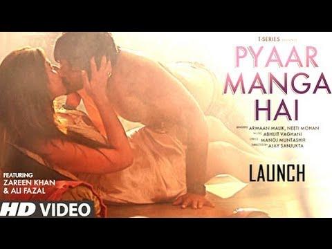 PYAAR MANGA HAI Video Song Out | Zareen Khan,Ali Fazal | Armaan Malik, Neeti | Hindi Event Video