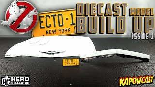 GHOSTBUSTERS ECTO-1 DIECAST BUILD | EAGLEMOSS KIT 1