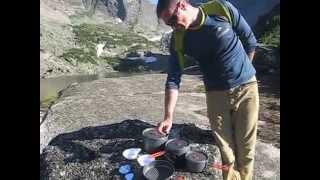 Обзор туристической посуды Fire-Maple Feast 5