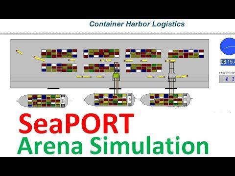 seaport harbor arena simulation