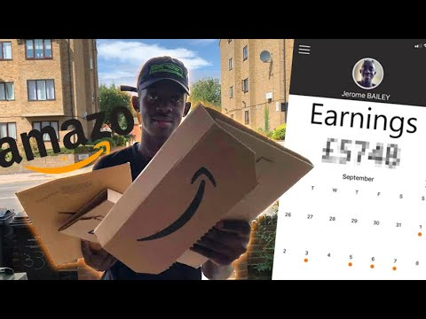 I Worked As An Amazon Delivery Driver For A Week And Made £___